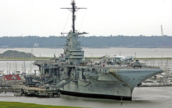 Yorktown to stay put for repairs