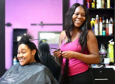 Latoya Bryant Christina White voting beauty salons.jpg