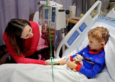 Boy, 4, recovering from pit bull attack