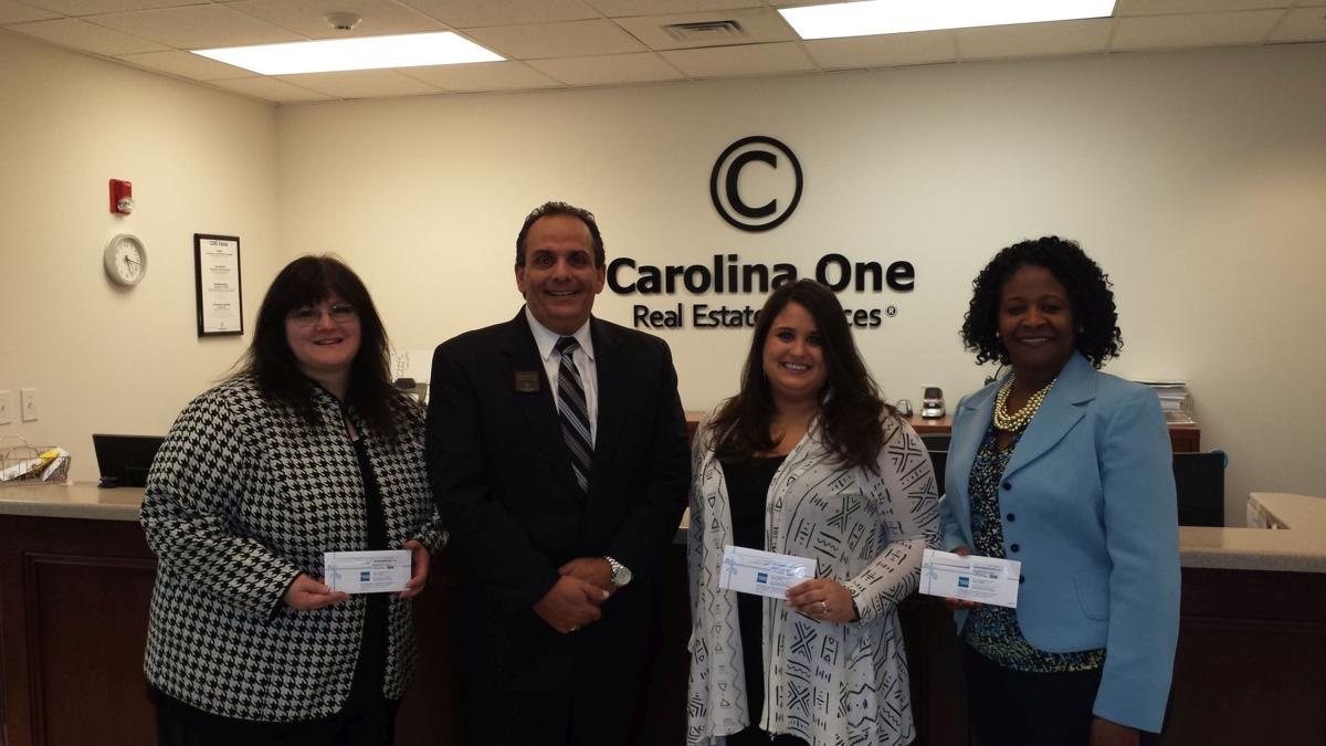 Summerville Carolina One office rounds up funds for teachers