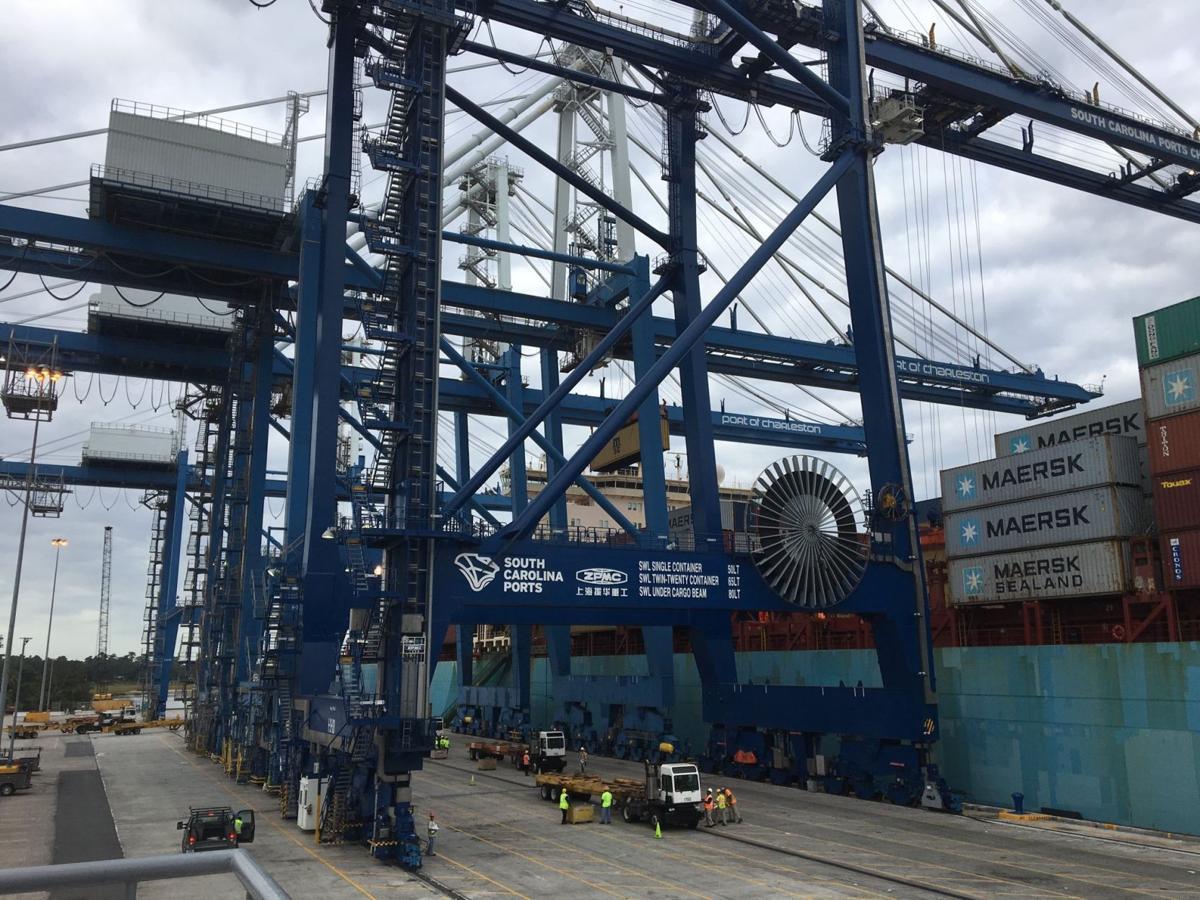 Port of Charleston Maersk Kleven (copy) (copy)