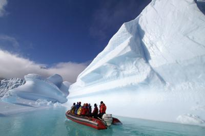 Locals join group for Antarctica expedition