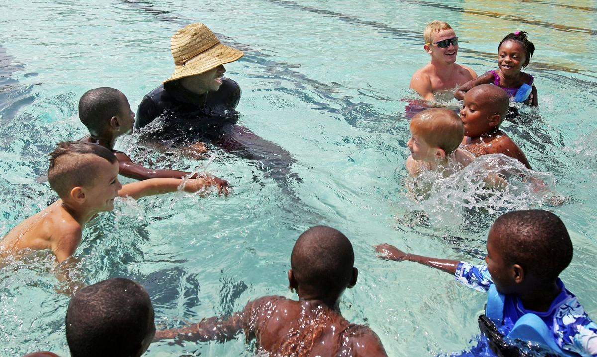 Camp helps kids conquer fear, get into the swim