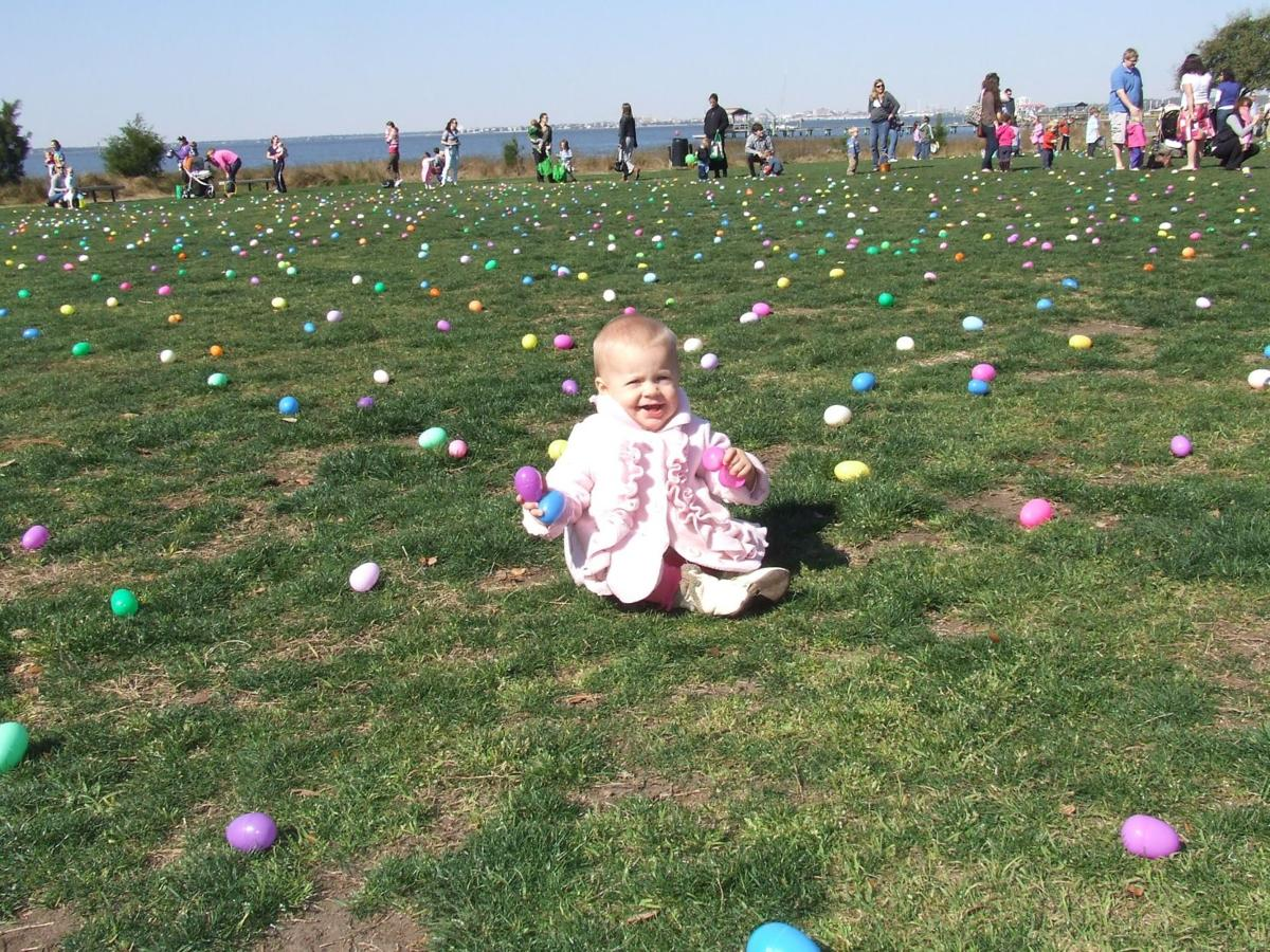 Have fun with Easter egg hunts