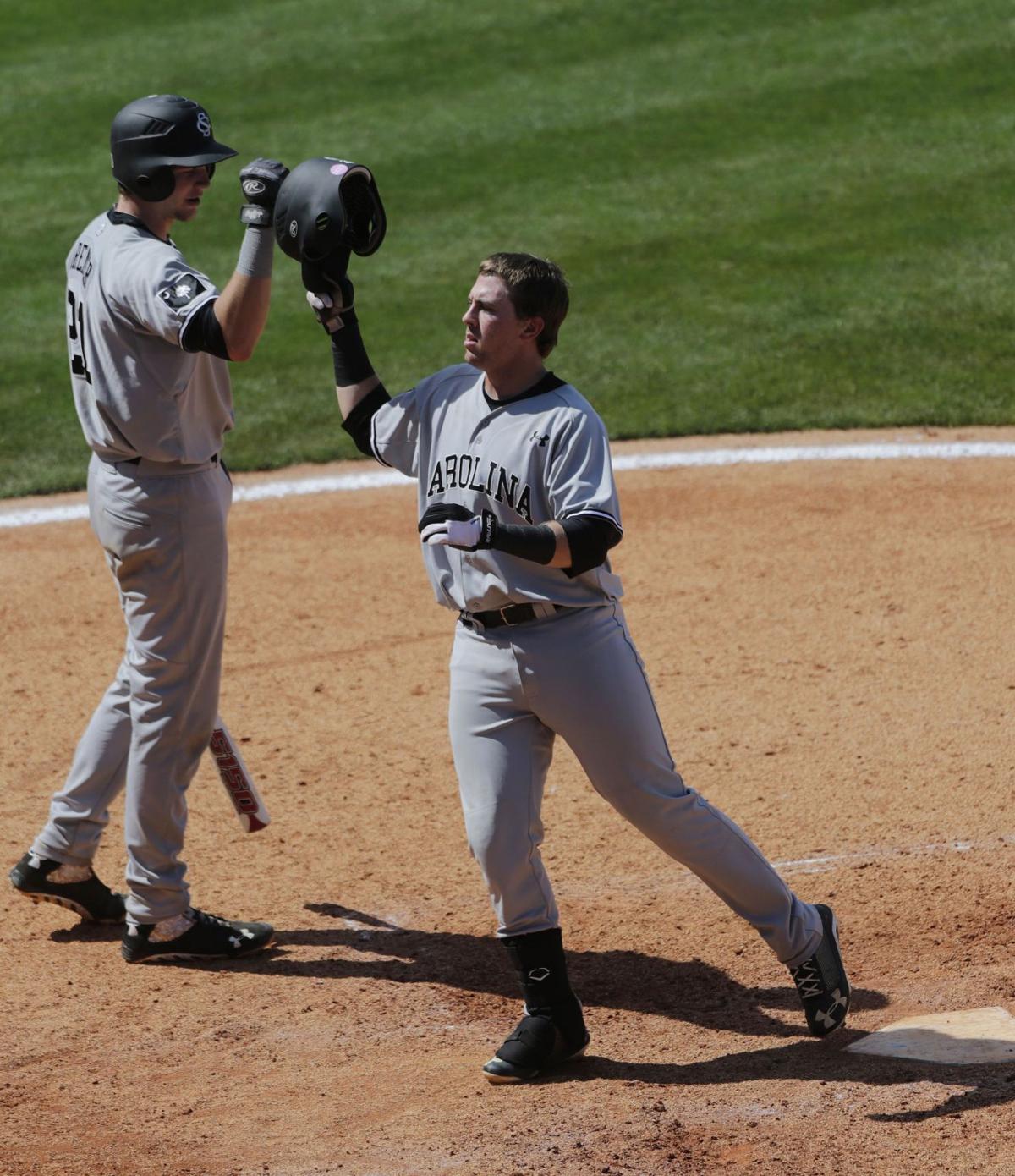 Dantzler blooms as power hitter at South Carolina