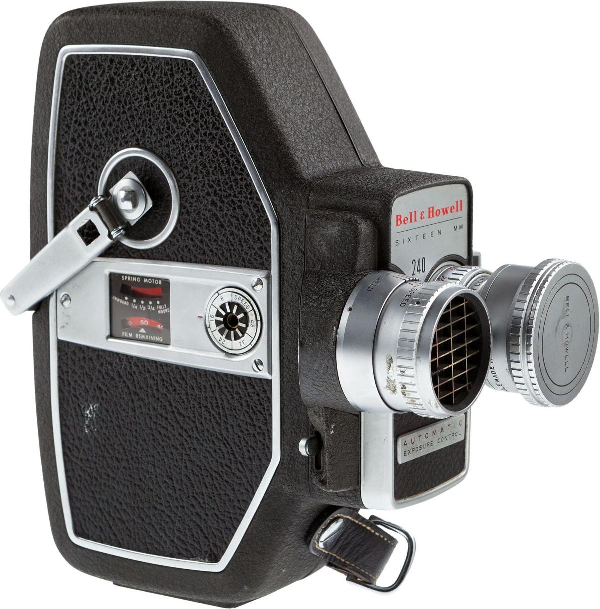 Orson Welles' camera, other items up for auction