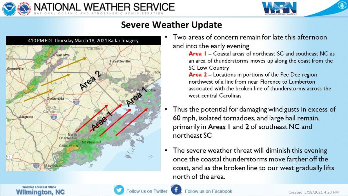 NWS Severe Weather Update