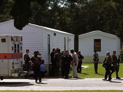 N. Charleston standoff ends with one man in custody
