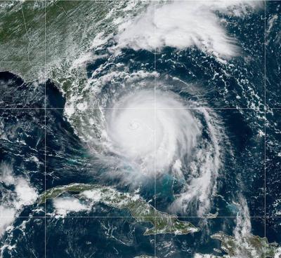 Hurricane Dorian Monday AM