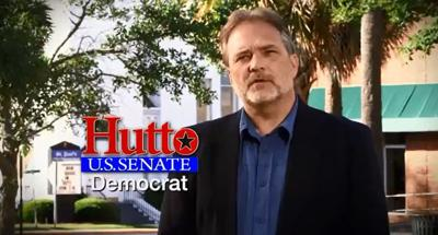 Cash-strapped Democrat Hutto has web-only ad out in Senate race