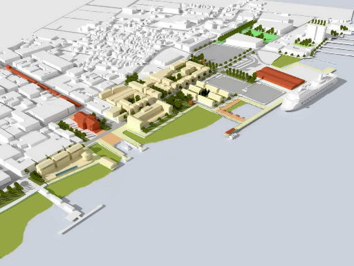 Plan for waterfront unveiled