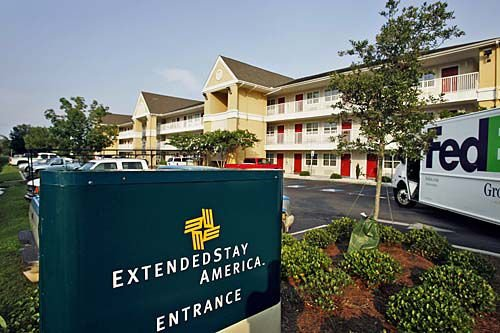 Extended Stay files for protection