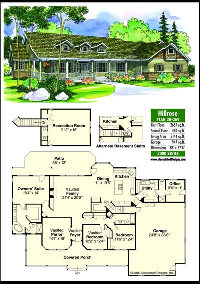 This week's house plan Hillrose 30-269