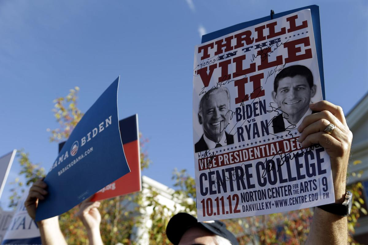 Biden and Ryan set for debate, and the campaigns wait for the impact