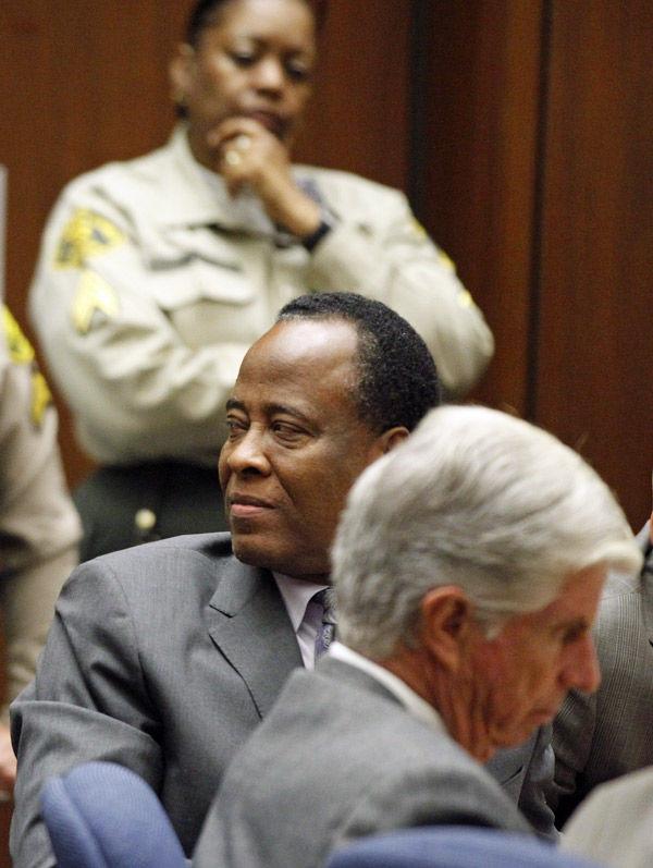 Conrad Murray gets 4-year sentence