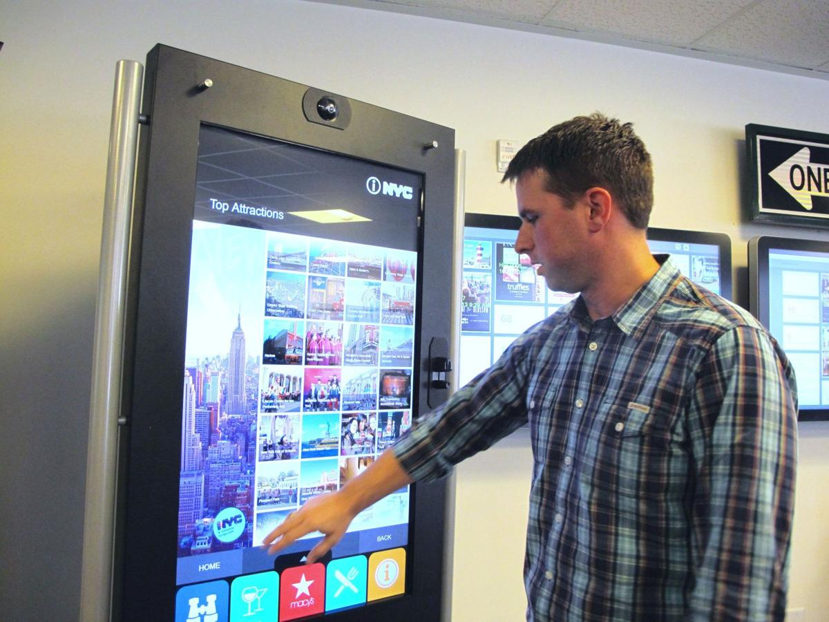 Kiosks may replace tourist brochures from SC to NY