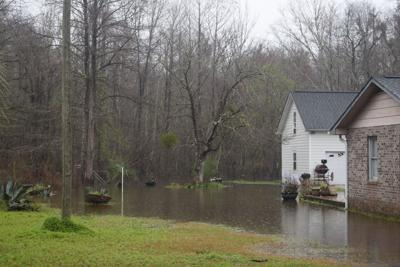 Everett Carolina backyard flooded (copy)