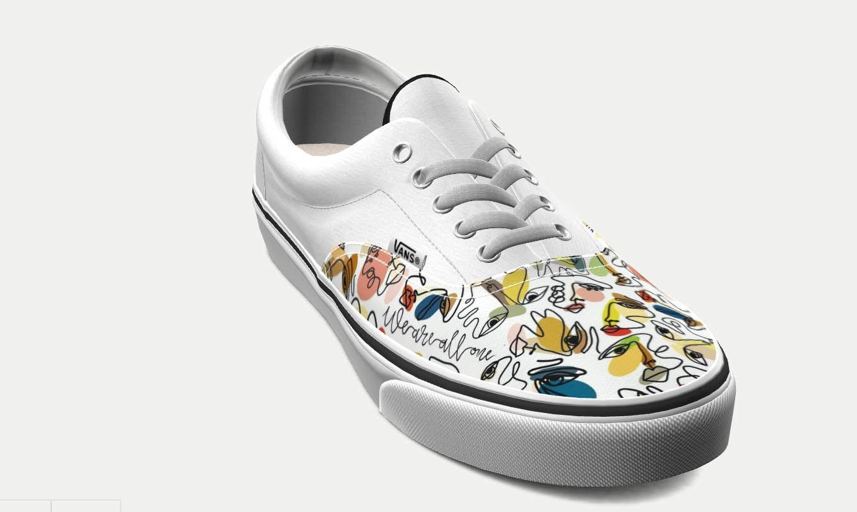 Vans shoe design created by Charleston