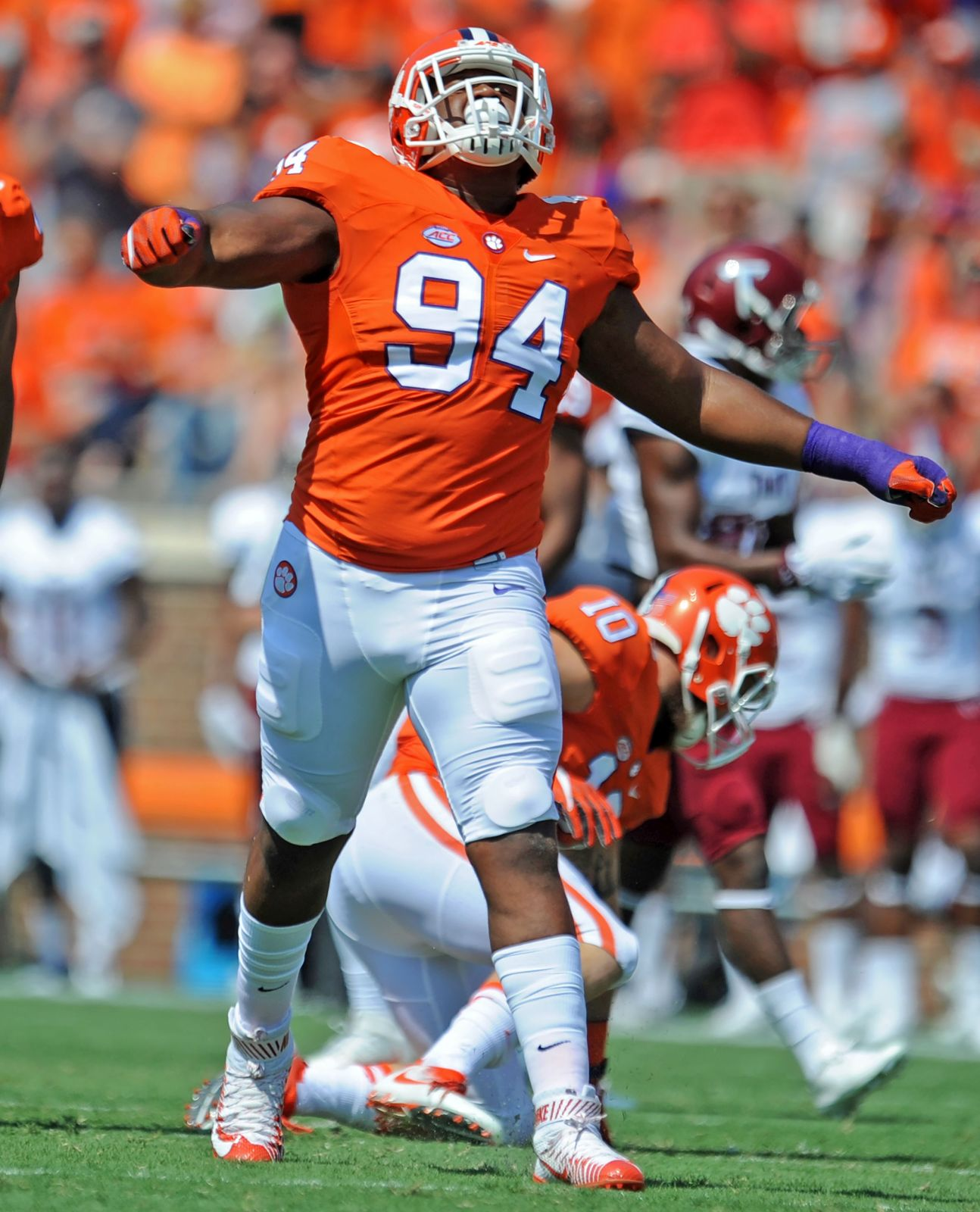 Off the football field, Clemson's Carlos Watkins known for a ...