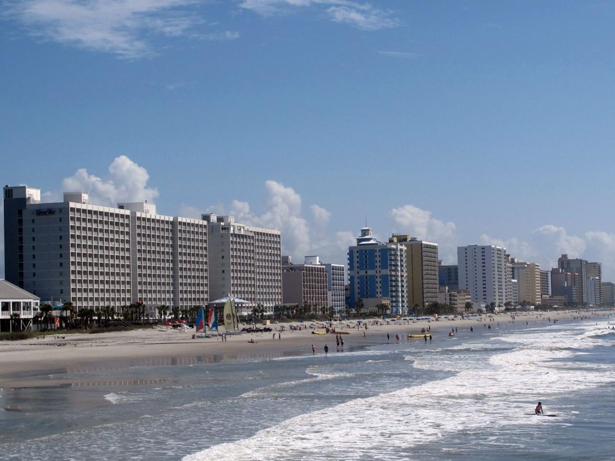 Myrtle Beach Visit The Boardwalk But Pass Free Parking