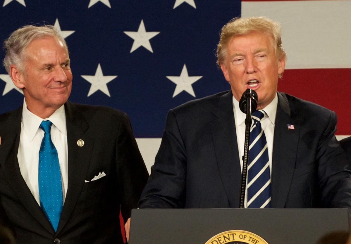 Henry McMaster Donald Trump (copy) (copy)