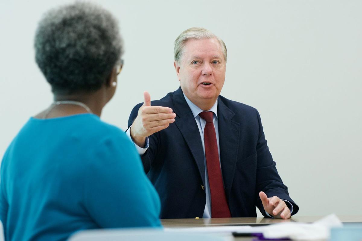Graham Speaking, Inside