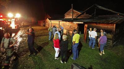 Fire threatens campground