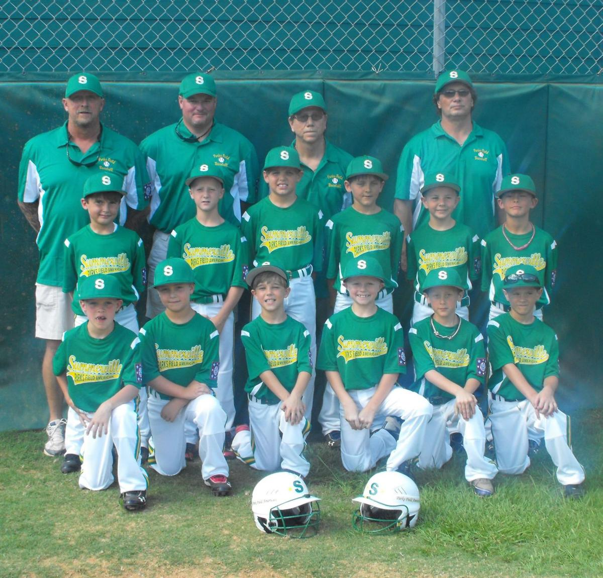 Parks Field champs again in machine pitch