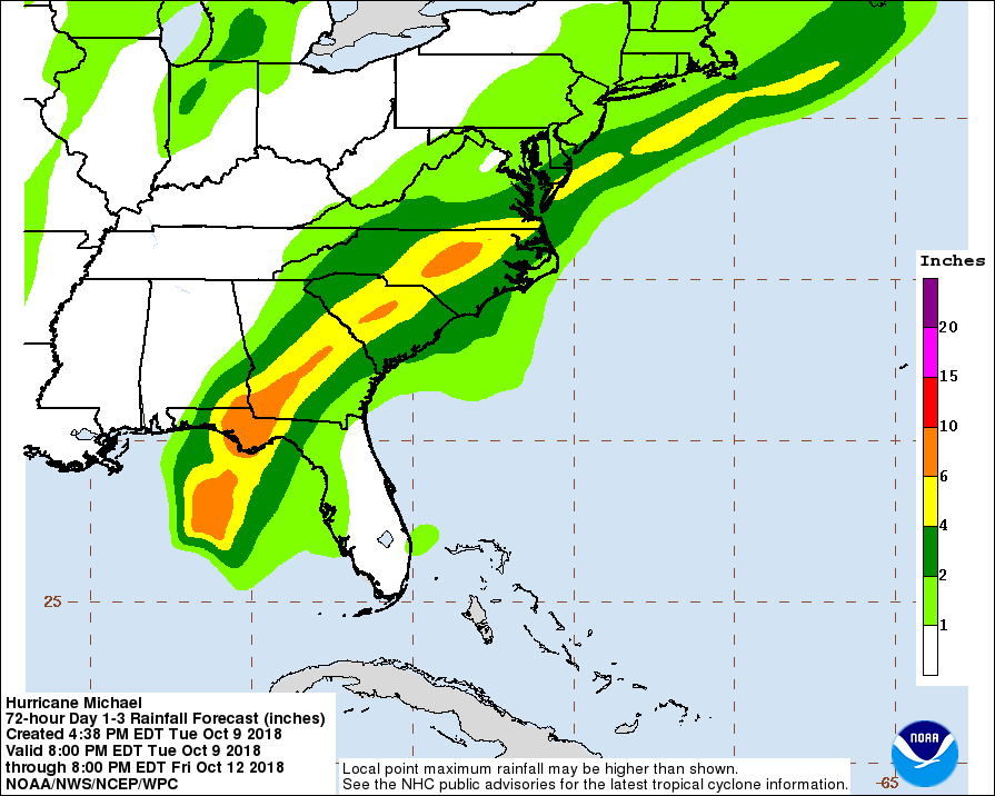 Charleston Under Tropical Storm Warning Ahead Of Strengthening