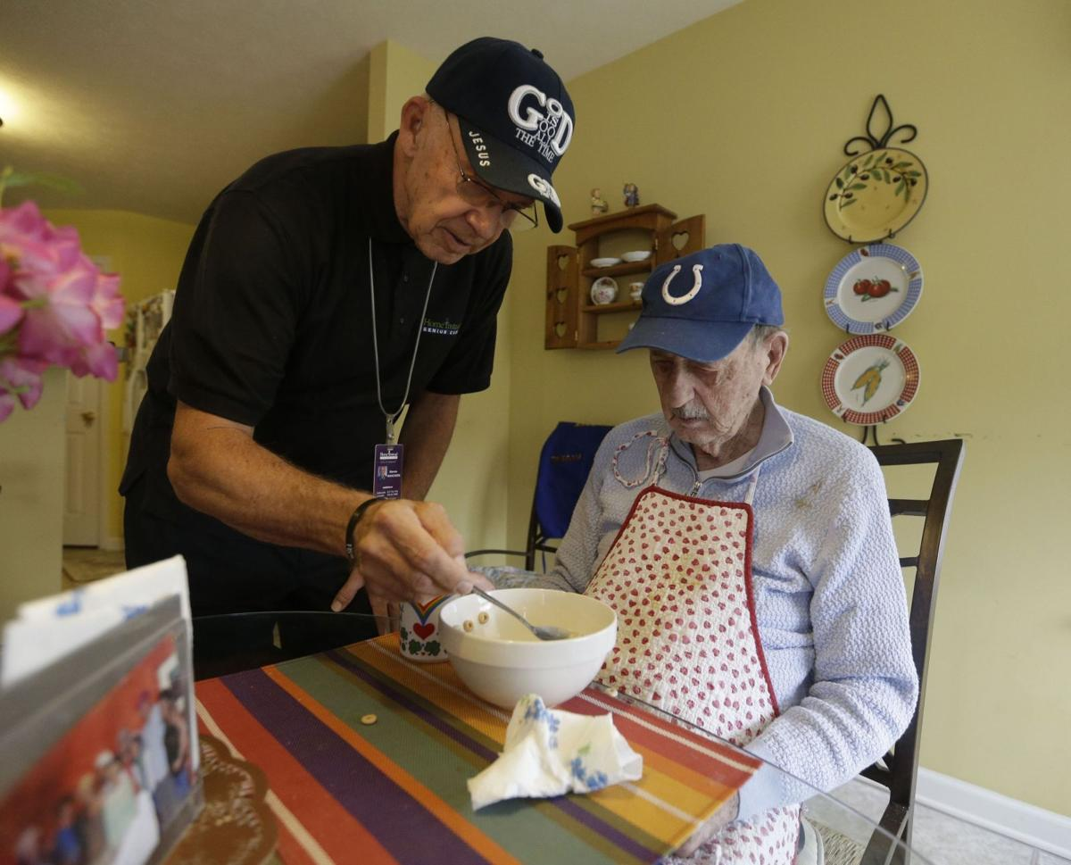 Growing number of seniors caring for other seniors