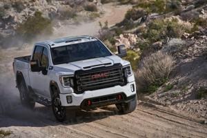 The 2020 GMC Sierra 2500HD Opens the Tailgate With the Wave of a Key Fob