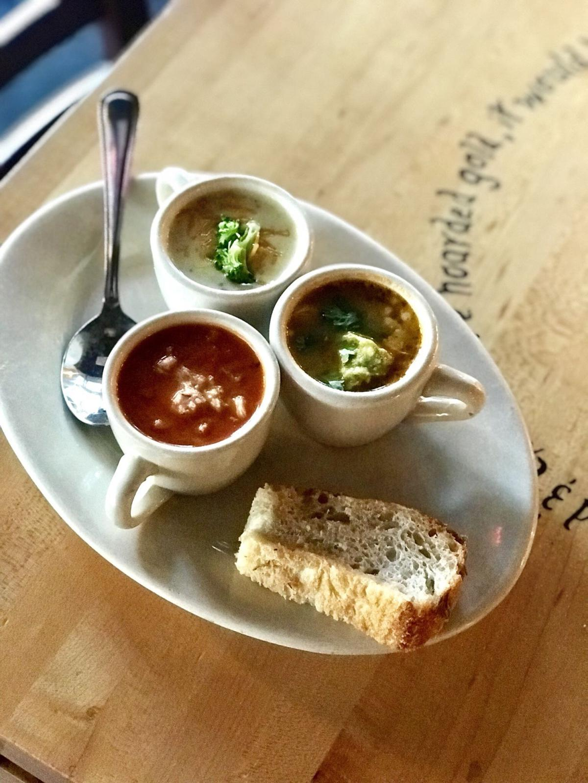 An all-day menu at Five Loaves Cafe downtown means more soups for ...