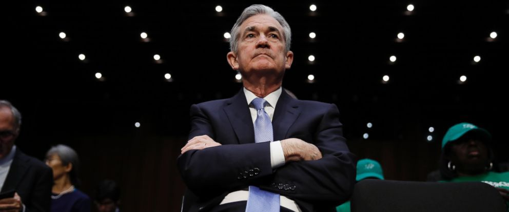Image result for Fed Chairman Jay Powell