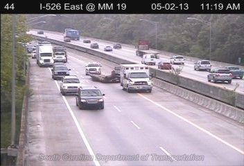 Wreck cleared on I-526, eastbound lanes clear