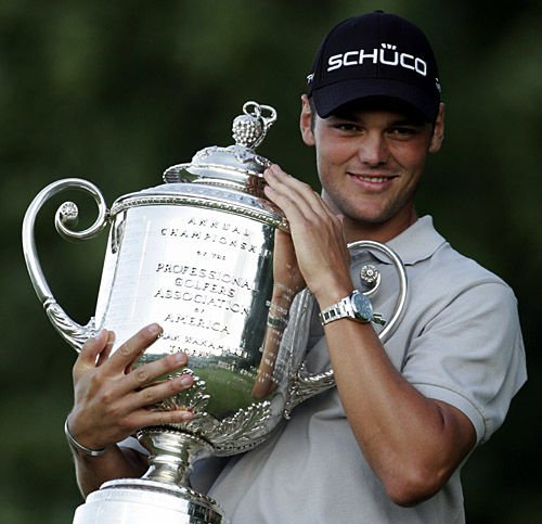 Penalty denies Johnson chance to win PGA, won by Kaymer in playoff
