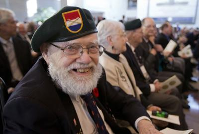 Special World War II force gets congressional honor