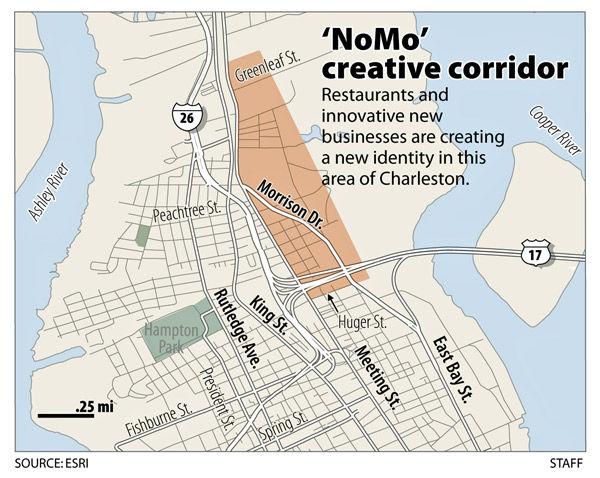 Creative 'NoMo': Hip, new businesses, residents revitalize corridor in upper peninsular Charleston