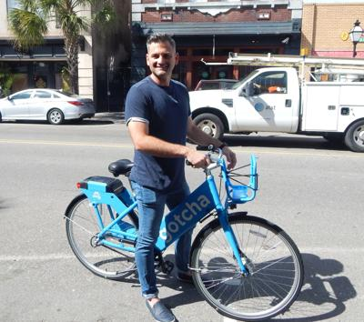 Bike share program in Charleston