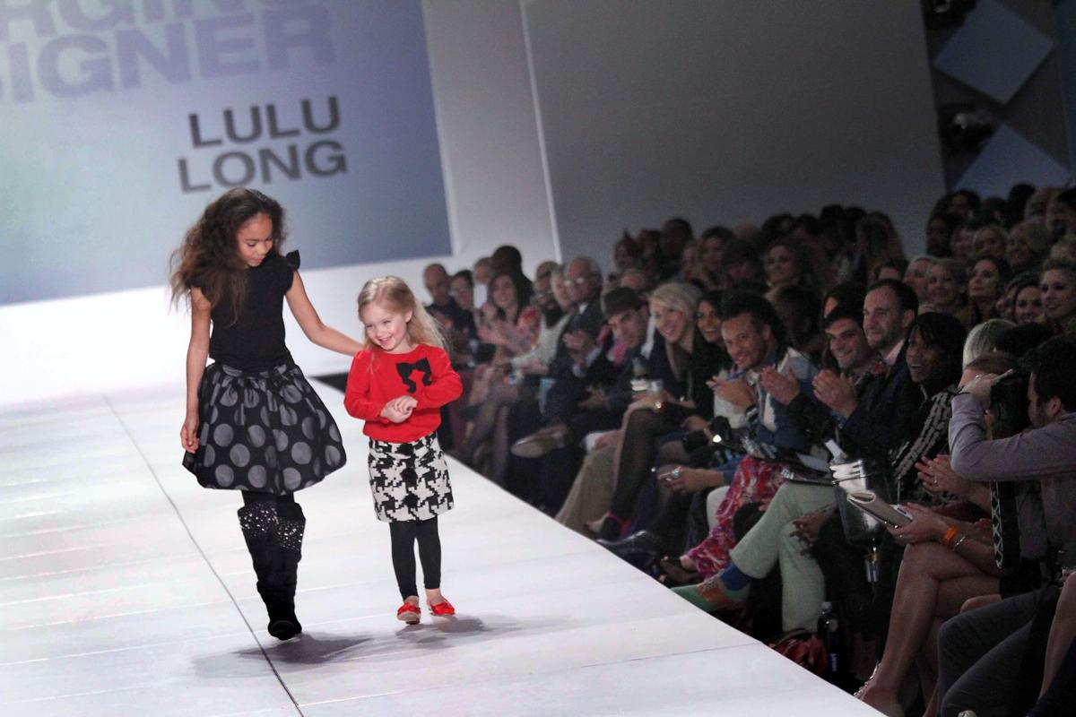 Kids steal the fashion show