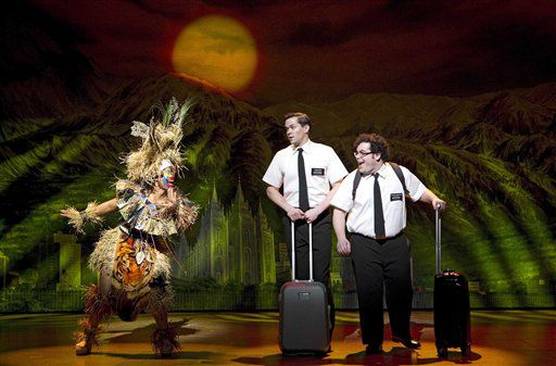 'The Book of Mormon' leads Tony Award nominations