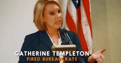 Catherine Templeton ad