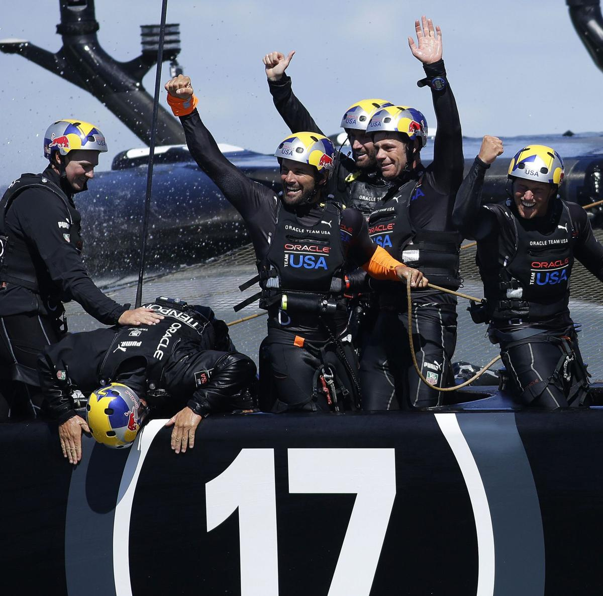 Team Oracle USA wins America's Cup, completes historic comeback
