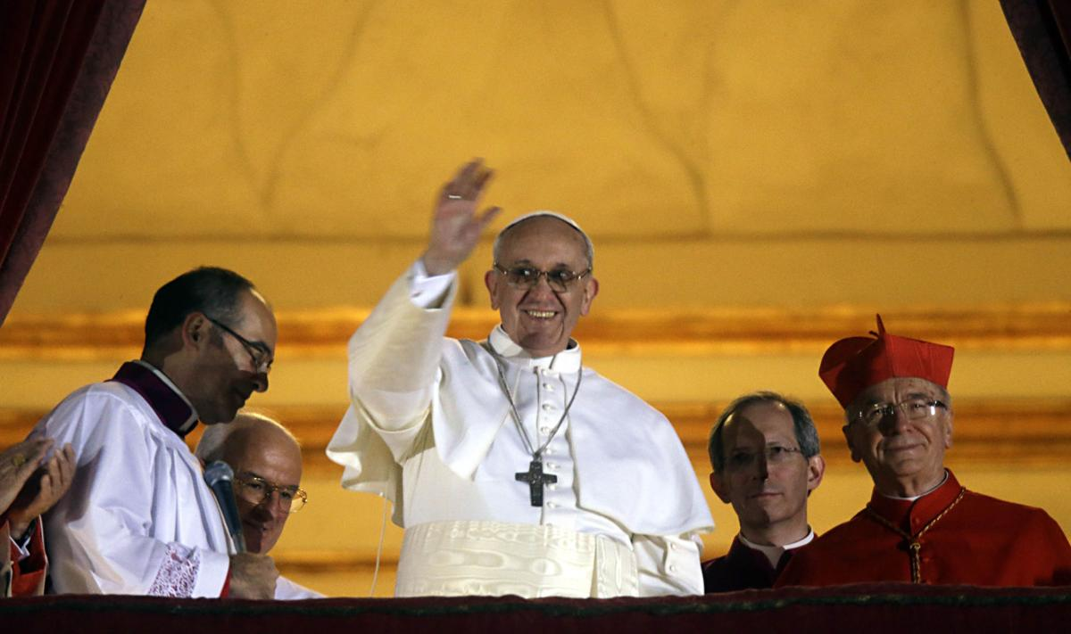 New pope hailed as humble uniter Local parishioner: 'I thank God he was chosen' New pope theologically conservative