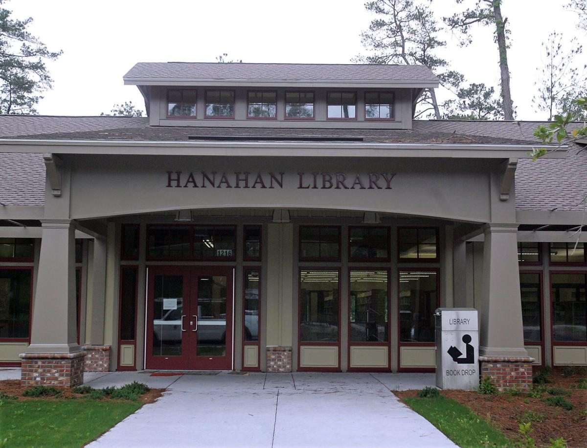New Hanahan library opens Sunday