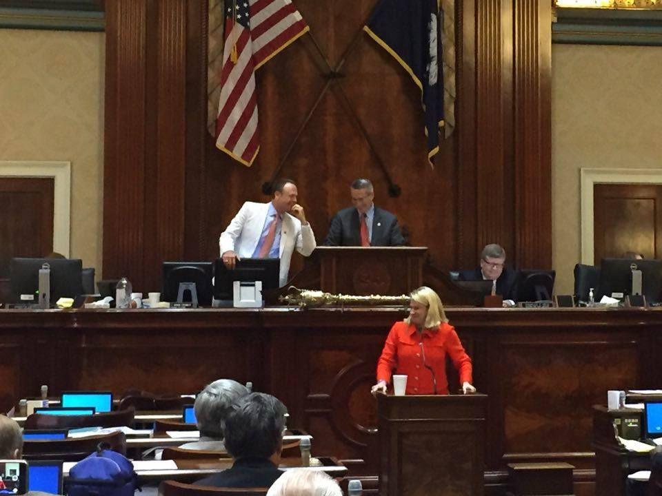 Palmetto Sunrise: Jenny Horne makes tearful farewell speech on S.C. House floor (copy)