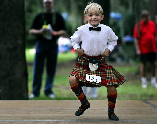 Scottish dancers step up at Highland event