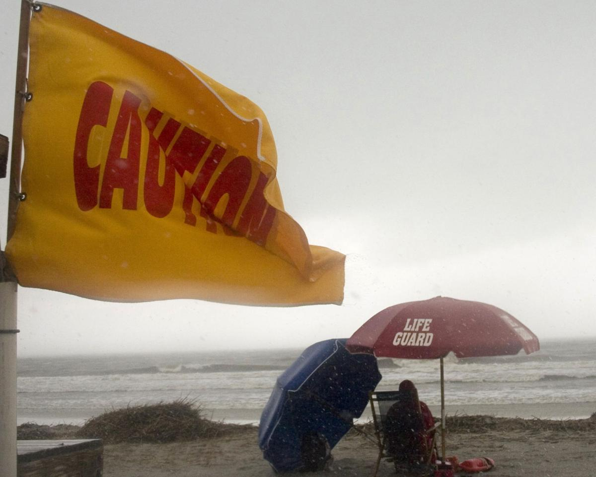 Rain, winds arrive ahead of storm