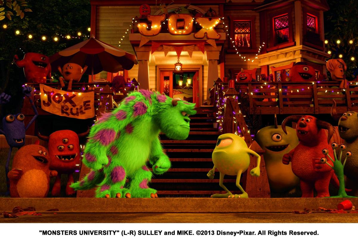 'Monsters University' gets a passing grade