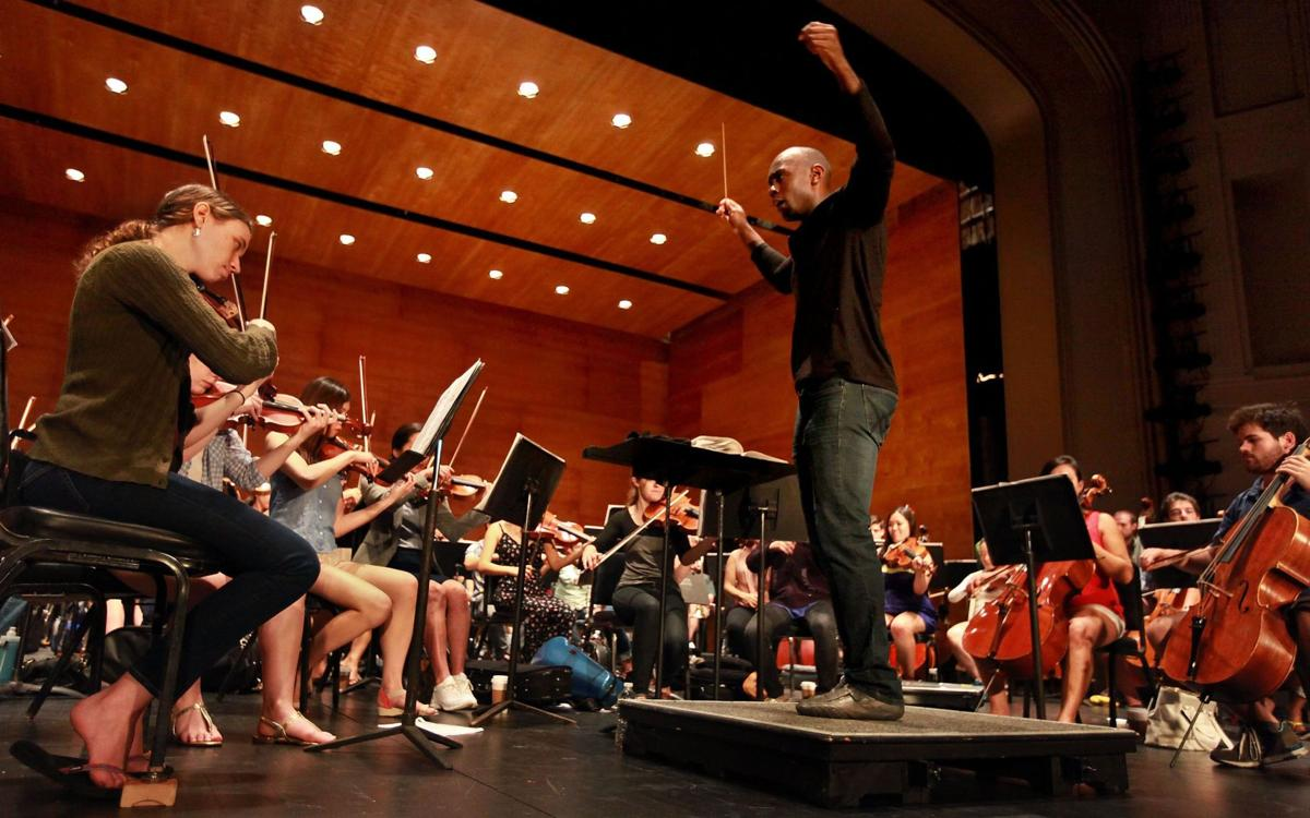 Orchestra lets it rip in first of two concerts