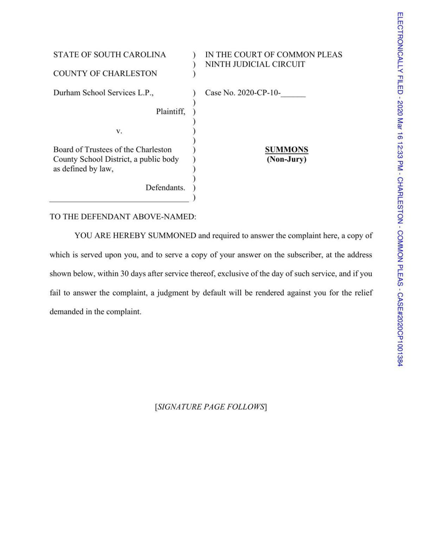 Durham's Petition